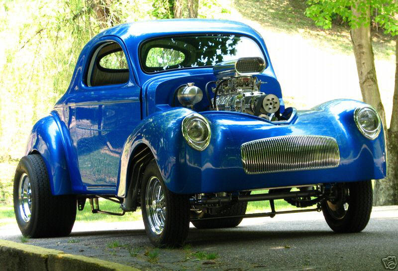 A Real Nice 41 Willys